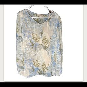 Philosophy Boho Top with Liner NWOT